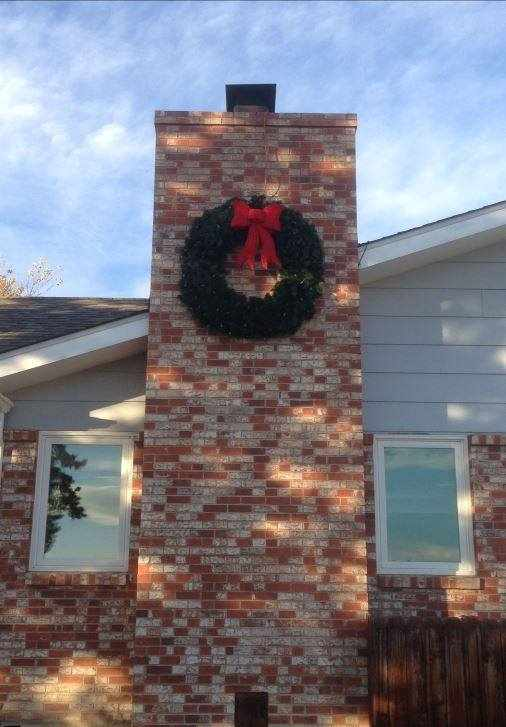 5 Foot Wreath - Customer Image
