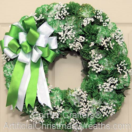 IRISH CHARM ST. PATRICKS DAY WREATH