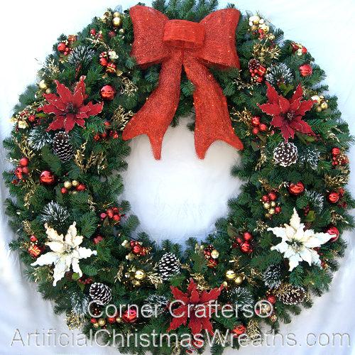 60 INCH LED CHRISTMAS MAGIC WREATH | CornerCrafters.com | XMAS WREATHS