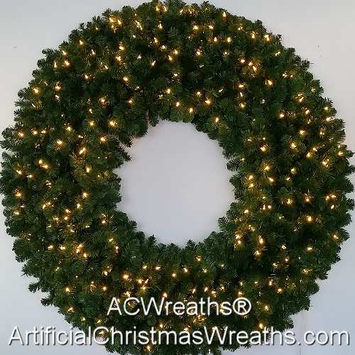 5 Foot (60 inch) Incandescent Christmas Wreath