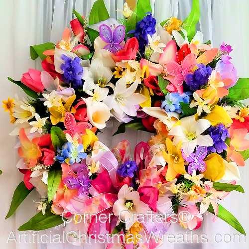 Floral Splendor Wreath