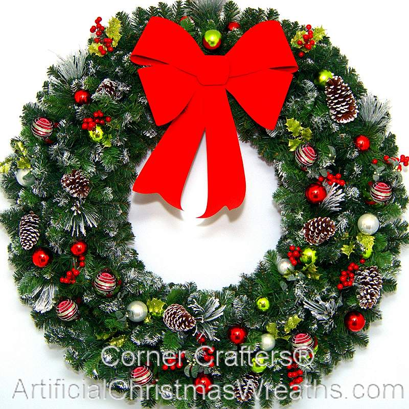 4 FOOT CHRISTMAS MAGIC WREATH