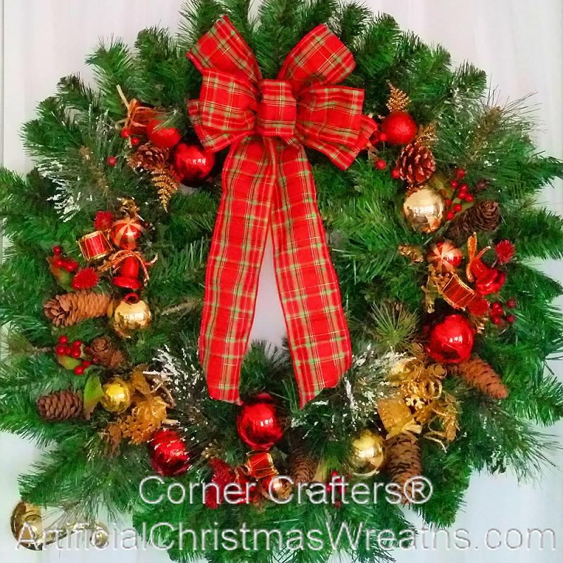 Thin Christmas Wreath