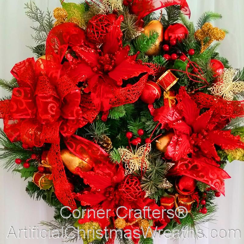 TIS THE SEASON CHRISTMAS WREATH | CornerCrafters.com | HOLIDAY ...