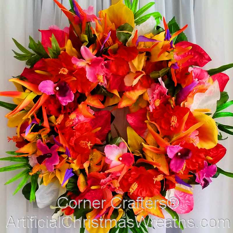 Seasonal Flowers Make Beautiful Wreaths That Can Last Year Round