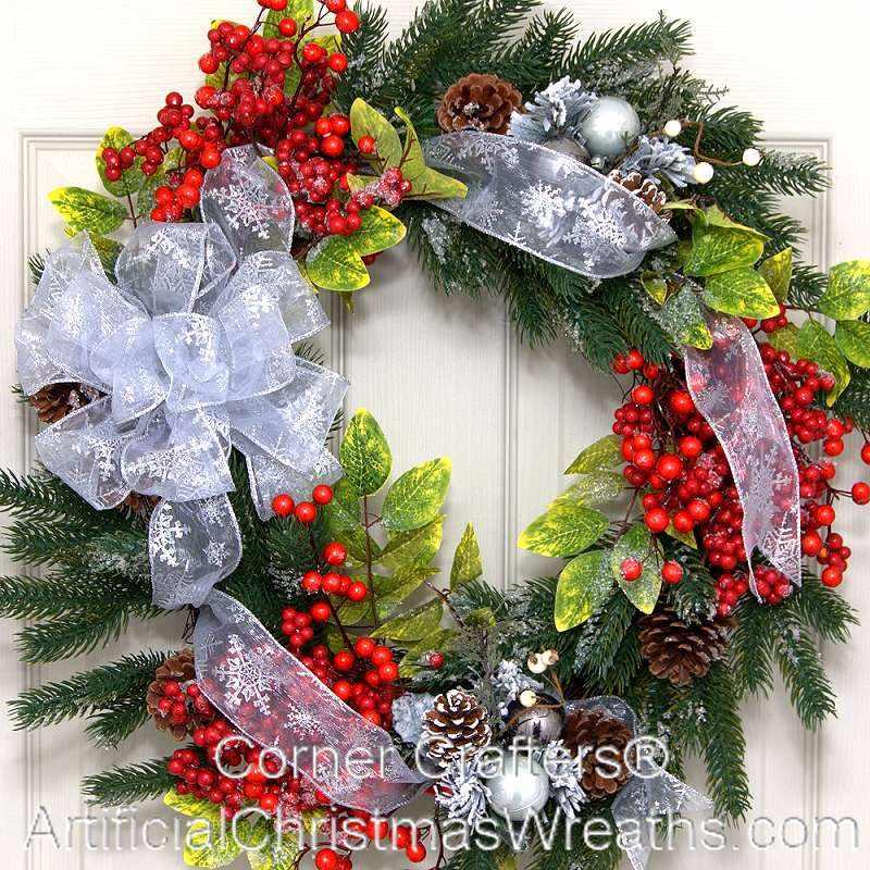 Winter Wreath Cornercrafters Com Winter Decoration