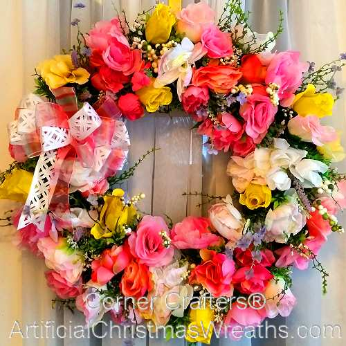 Rose Garden Mother's Day Wreath
