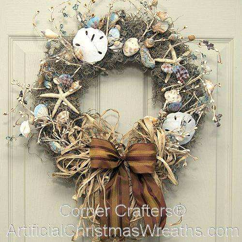 Sea Shell Wreath Cornercrafters Com Seashell Shell