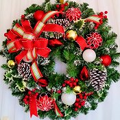 Home For The Holidays Wreath