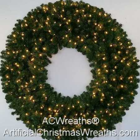 5 Foot (60 inch) L.E.D. Christmas Wreath