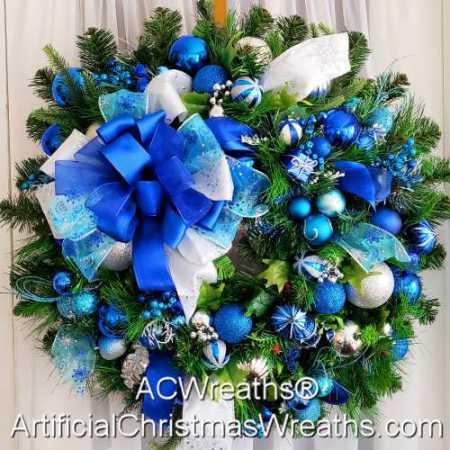 Frozen Elegance Wreath