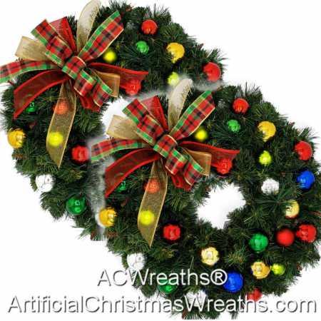 Christmas Accent Wreaths