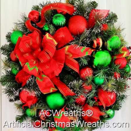 Christmas Elegance Wreath