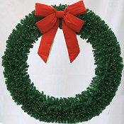 10 Foot (120 inch) L.E.D. Lighted Christmas Wreath