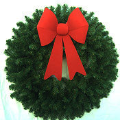 3 Foot Christmas Wreath (without lights)